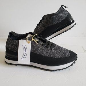 Greats Brooklyn USA G-Knit Sneakers Black/gray